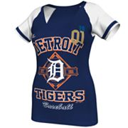 Majestic Detroit Tigers This Is My City Tee - Women