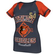 Majestic Baltimore Orioles This Is My City Tee - Women