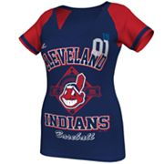 Majestic Cleveland Indians This Is My City Tee - Women