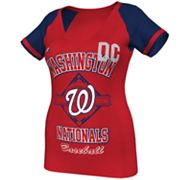 Majestic Washington Nationals This Is My City Tee - Women