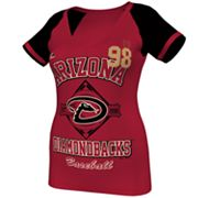 Majestic Arizona Diamondbacks This Is My City Tee - Women