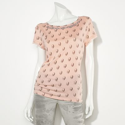 Princess Vera Wang Skull Bead Top - Juniors
