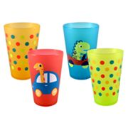 Jumping Beans Melamine Dinosaur 4-pc. Juice Cup Set