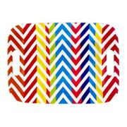 SONOMA life + style Chevron Serving Tray