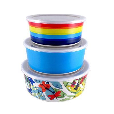 SONOMA outdoors Covered Melamine Nesting Bowl Set