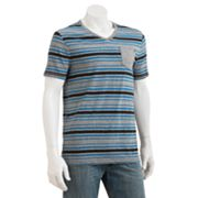 Rock and Republic Striped V-Neck Tee