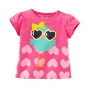 Jumping Beans Bird and Heart Tee - Baby