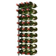 Epicureanist 27-Bottle Epic Wall-Mounted Metal Wine Rack