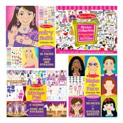 Melissa and Doug Girls Sticker Bundle
