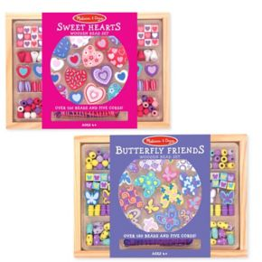 Melissa and Doug Bead Set Bundle