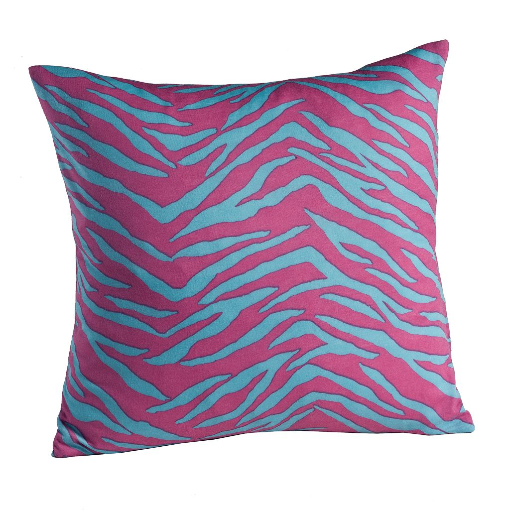 Madison Zebra Jersey Decorative Pillow