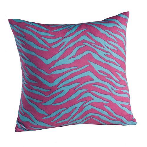 Madison Zebra Jersey Decorative Pillow