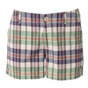 Dockers Plaid Twill Shorts