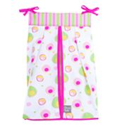 Trend Lab Splash Pink Diaper Stacker