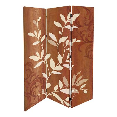 Crimson Elements Folding Screen