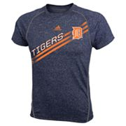 adidas Detroit Tigers Heathered Performance Top - Boys 8-20