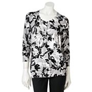 212 Collection Floral Cardigan