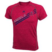 adidas Los Angeles Angels of Anaheim Heathered Performance Top - Boys 8-20