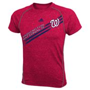 adidas Washington Nationals Heathered Performance Top - Boys 8-20