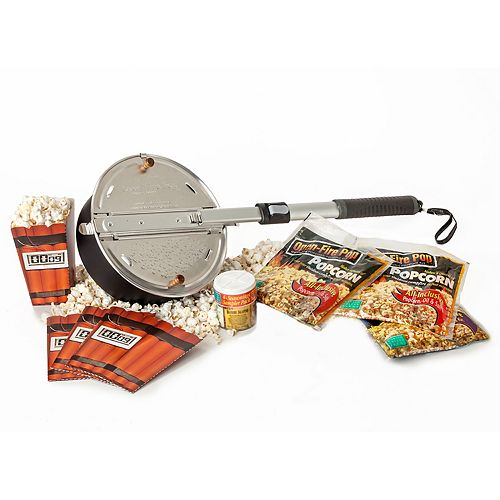 Wabash Valley Farms Open-Fire Popcorn Popping Party Kit