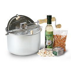 Wabash Valley Farms All Natural Whirley Popcorn Popper Set