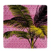 SONOMA outdoors Palm Purple Melamine Dinner Plate