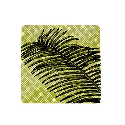 SONOMA outdoors Palm Green Melamine Salad Plate
