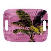 SONOMA outdoors Palm Purple Melamine Serving Tray