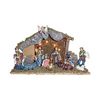Kurt Adler 12-pc. Nativity Set