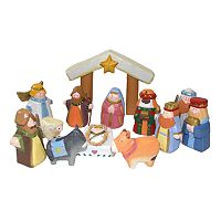 Kurt Adler 13-pc. Child's 1st Nativity Set