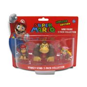 Super Mario 3-pk. Donkey Kong Mini Figure Collection
