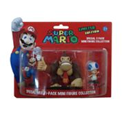 Super Mario 3-pk. Special Mini Figure Collection