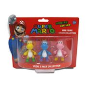Super Mario 3-pk. Yoshi Mini Figure Collection