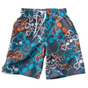 Jumping Beans Skull Swim Trunks - Boys 4-7x
