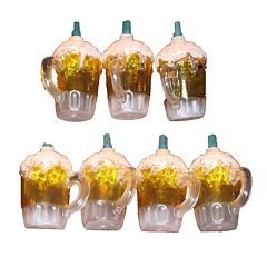 Kurt Adler Beer Mug Light Set
