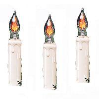 Kurt Adler Indoor Flicker Flame Candle Light Set