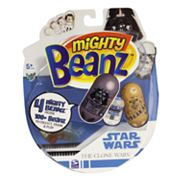 Mighty Beanz 4 pkStar Wars Clone Wars by Spin Master