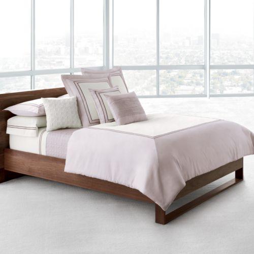 Simply Vera Vera Wang Plaza 300-Thread Count 4-pc. Sateen Comforter Set - King