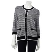 Croft and Barrow Striped Cardigan