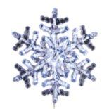 Kurt Adler Clear Pre-Lit LED Snowflake