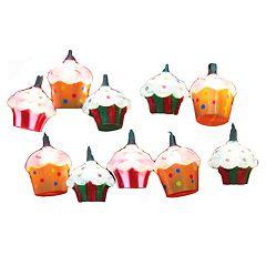 Kurt Adler Cupcake Light Set