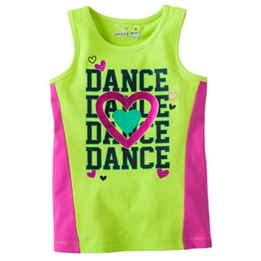 Jumping Beans Dance Tank - Girls 4-7