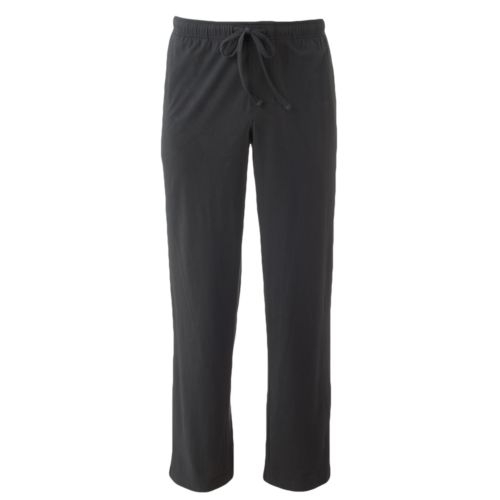 Croft & Barrow® Solid Jersey Knit Lounge Pants - Big and Tall