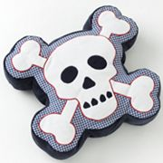 Jumping Beans Xtreme Skull Decorative Pillow