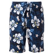 Croft and Barrow Floral Lounge Shorts - Big and Tall