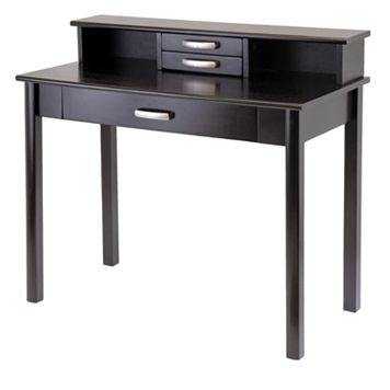 Winsome Liso 2pc. Computer Desk & Hutch Set