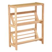 Winsome Tilted Shelf 2 tier Bookshelf