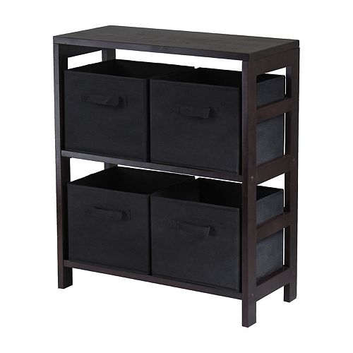 Winsome Capri 2-Section Storage Shelf