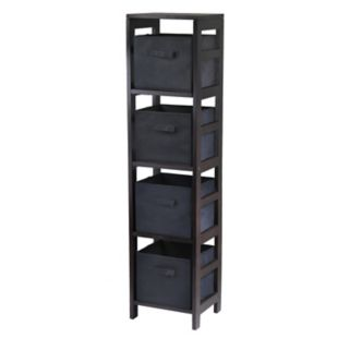 Winsome Capri 4-Section Storage Shelf