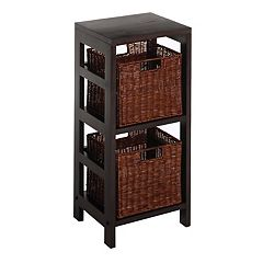 Winsome Leo 3 pc Shelf Set